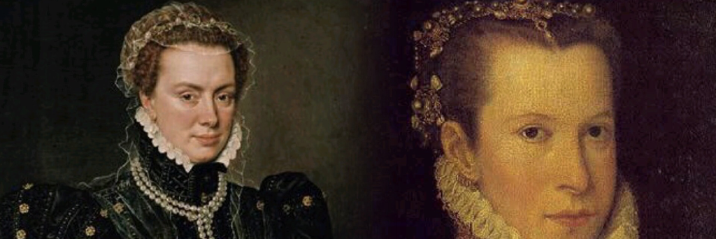 Margherita d'Austria. Figlia naturale dell'imperatore Carlo V, ha avuto origini del tutto sovrapponibili a quelle della sorellastra Thadea, essendo nata appena sei mesi prima di lei da una relazione illegittima consumata sempre nelle Fiandre.