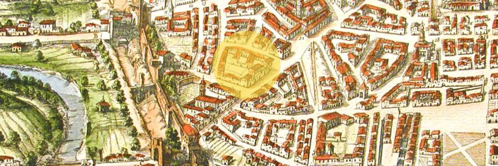 La Ca' Grande dei Malvezzi, il palazzo nobiliare di Bologna ove vide la luce Thadea.